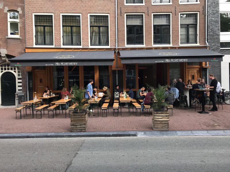 Horecabedrijfsruimte aan de Spuistraat te Amsterdam
