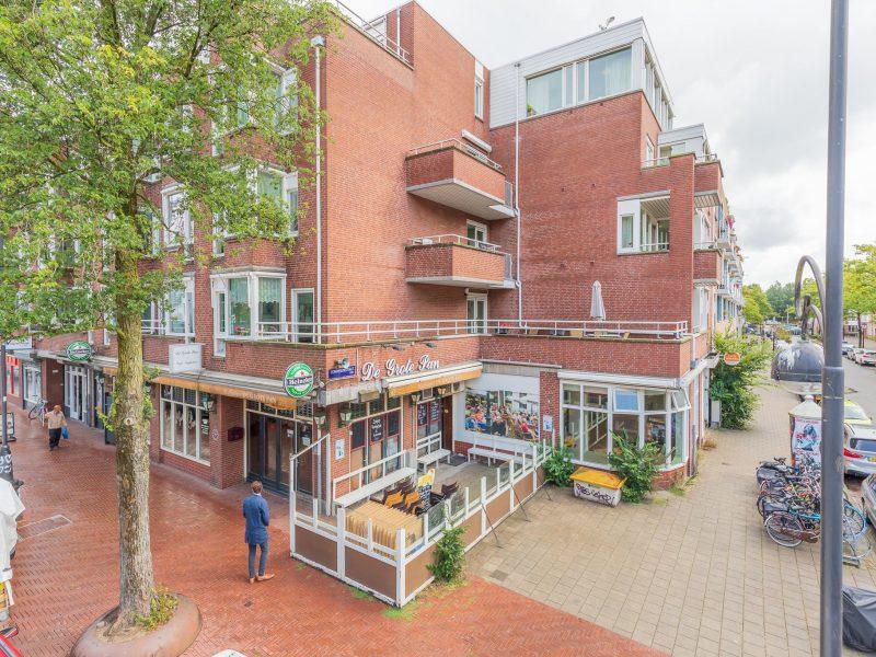 Unieke hoeklocatie aan de Dappermarkt te Amsterdam