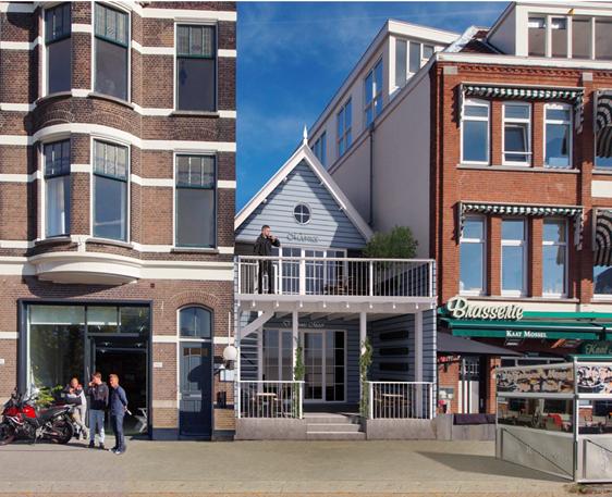 Horecaruimte in de wijk Kralingen te Rotterdam