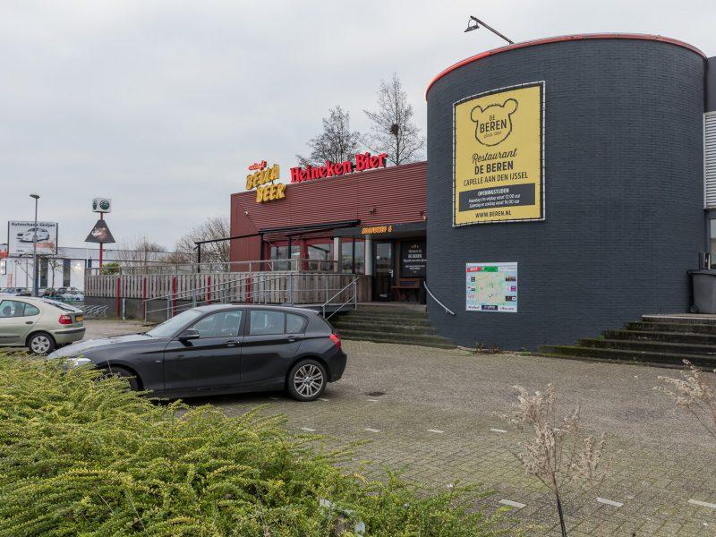 Horecaruimte aan de Hoofdweg te Capelle aan den IJssel