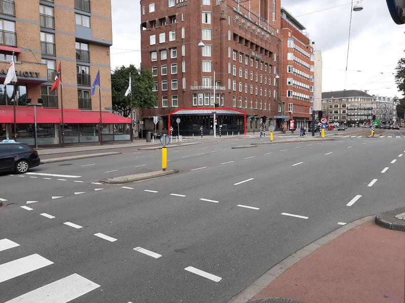 Unieke hoeklocatie in Amsterdam ter overname