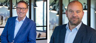 30- en 25-jarig jubileum bij Adhoc horecamakelaars voor Frank Merk en Henk Sluiter
