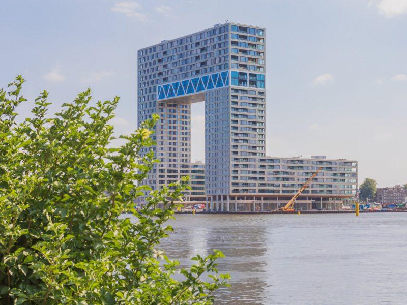 Unieke horecaruimte Pontsteiger Amsterdam de Houthaven te huur