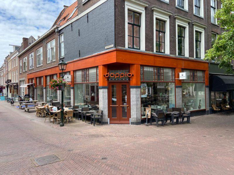 Schitterende hoeklocatie in Delft