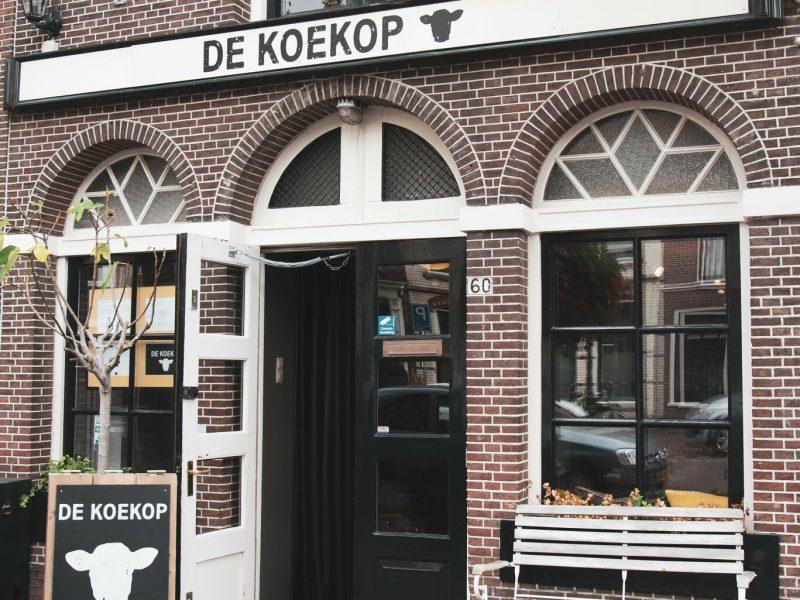 Restaurant in het centrum van Leiden