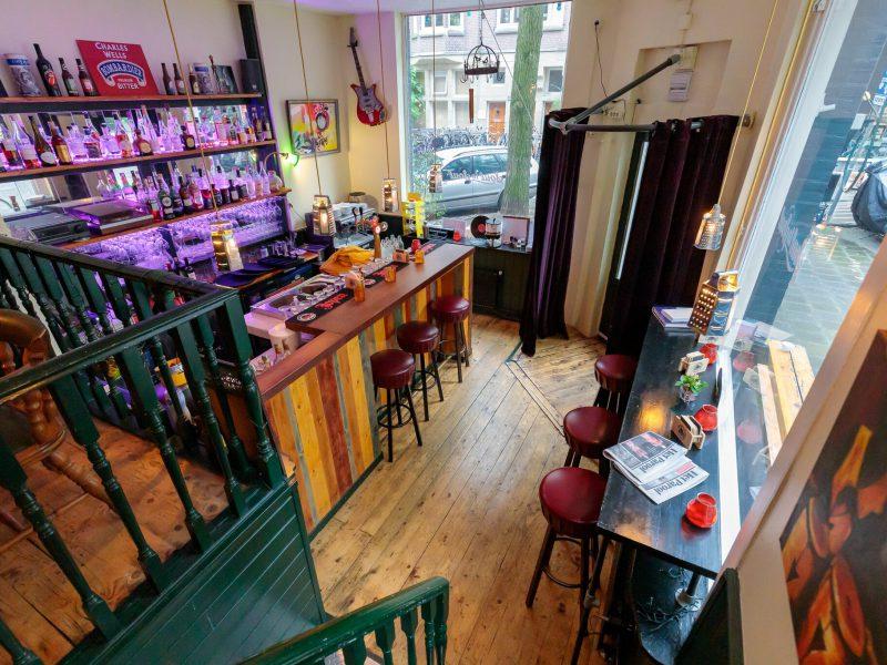Restaurant ter overname in de Helmersbuurt te Amsterdam