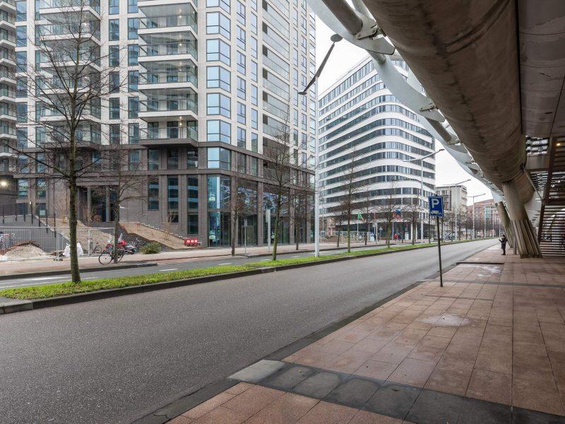 Horecaruimte op zichtlocatie bij WTC Den Haag