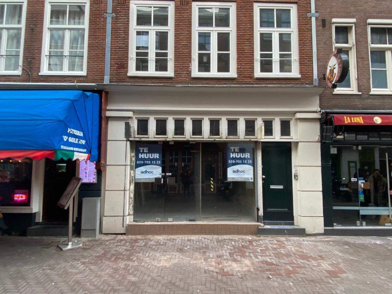 Casco horecaruimte nabij Leidseplein en Leidsestraat Amsterdam