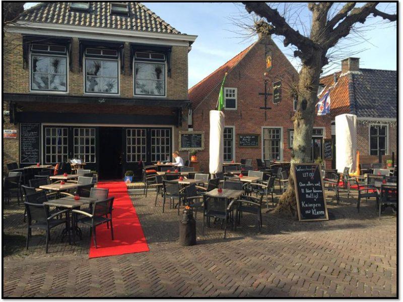 Te koop restaurant en OG in Langweer Friesland