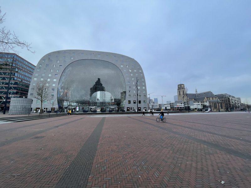 Horecaruimte in de Markthal te Rotterdam