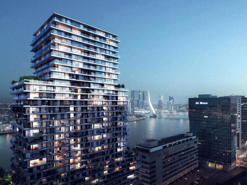 Horeca-units te huur in The Terraced Tower te Rotterdam